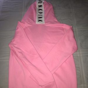 PINK warm up jacket with hood